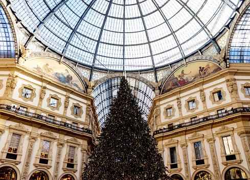 Natale a Milano - Galleria Vittorio Emanuele