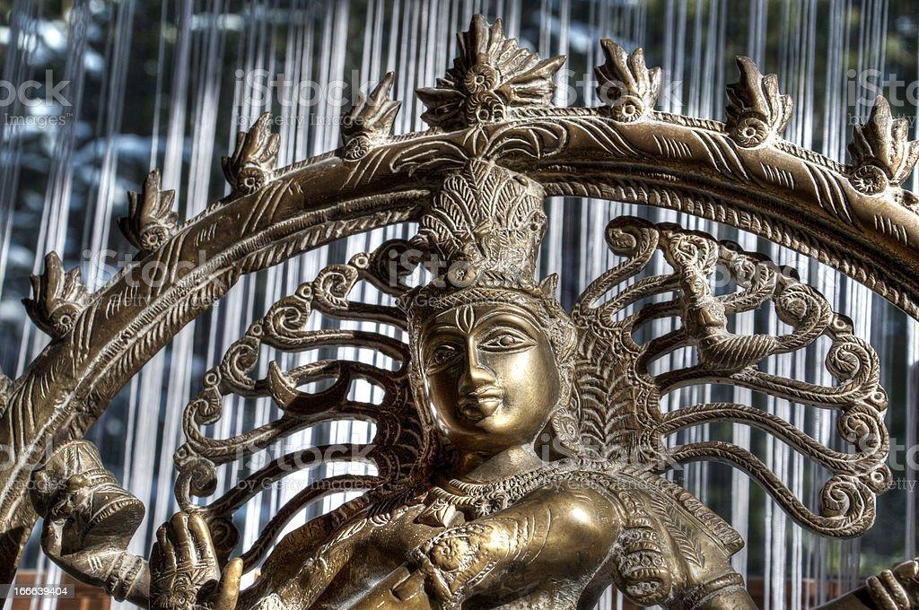 Nataraja Shiva royalty-free stock photo