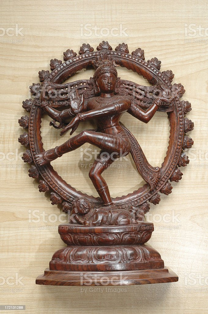 Nataraja statue royalty-free stock photo