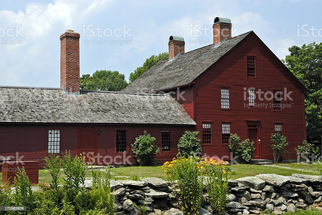 Nathan Hale Homestead Connecticut Historic Tourist Attraction royalty-free stock photo
