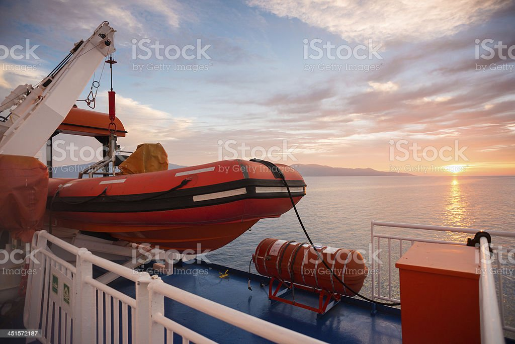 Natical Safety stock photo