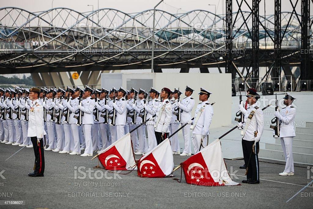 Nation Day Parade royalty-free stock photo