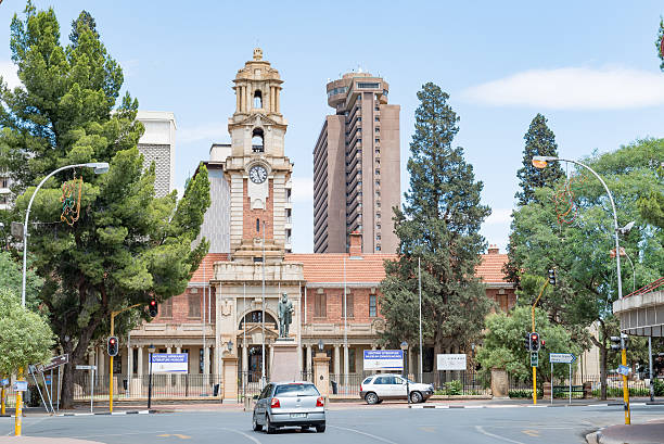 National Afrikaans and Sotho Literary Museum in Bloemfontein stock photo