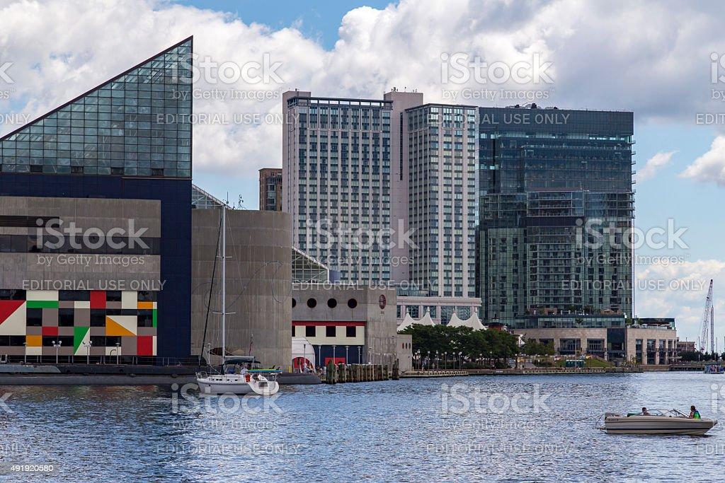 National Aquarium At Inner Harnour Of Baltimore Usa Stock ...