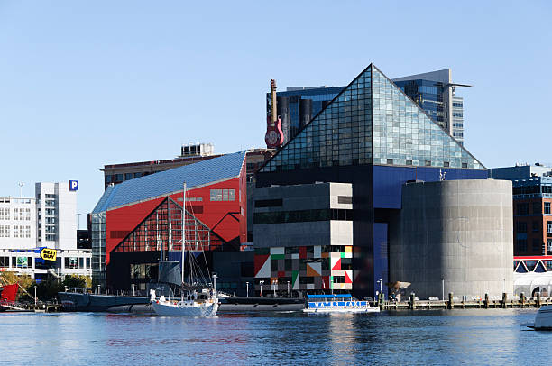National Aquarium in Baltimore, Maryland stock photo