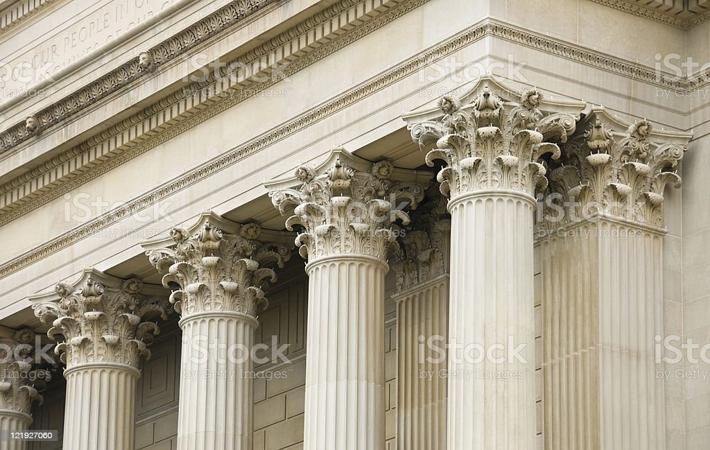 National Archives, Washington DC stock photo