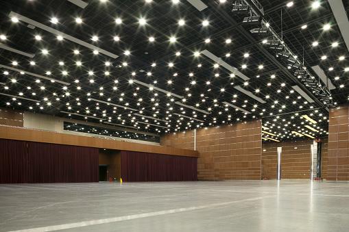 National art center performance hall interior.