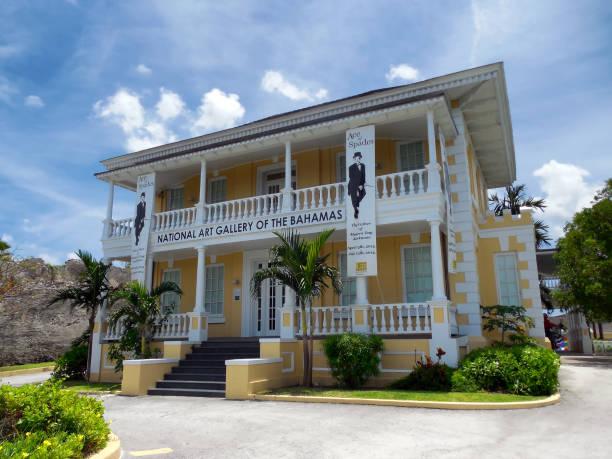 National Art Gallery of The Bahamas, Nassau stock photo