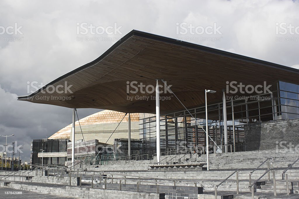 National Assembly Building royalty-free stock photo