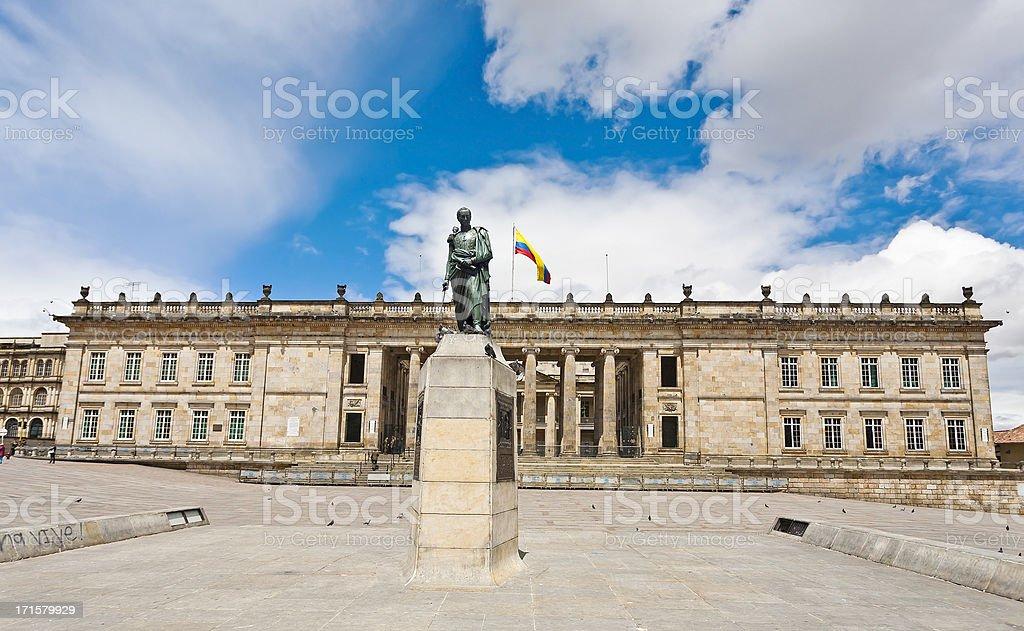 Capitolio nacional de Bogotá, Colombia. - foto de stock
