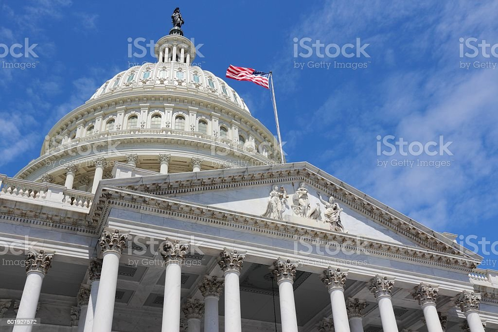 US National Capitol stock photo