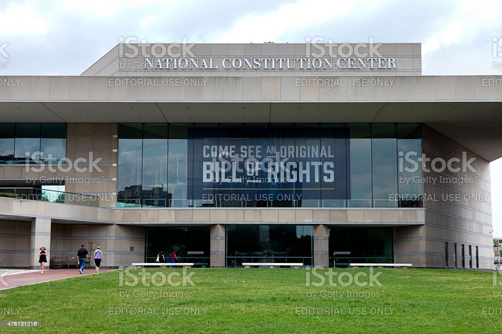 National Constitution Center stock photo