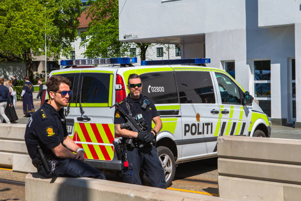National day in Norway. Security.