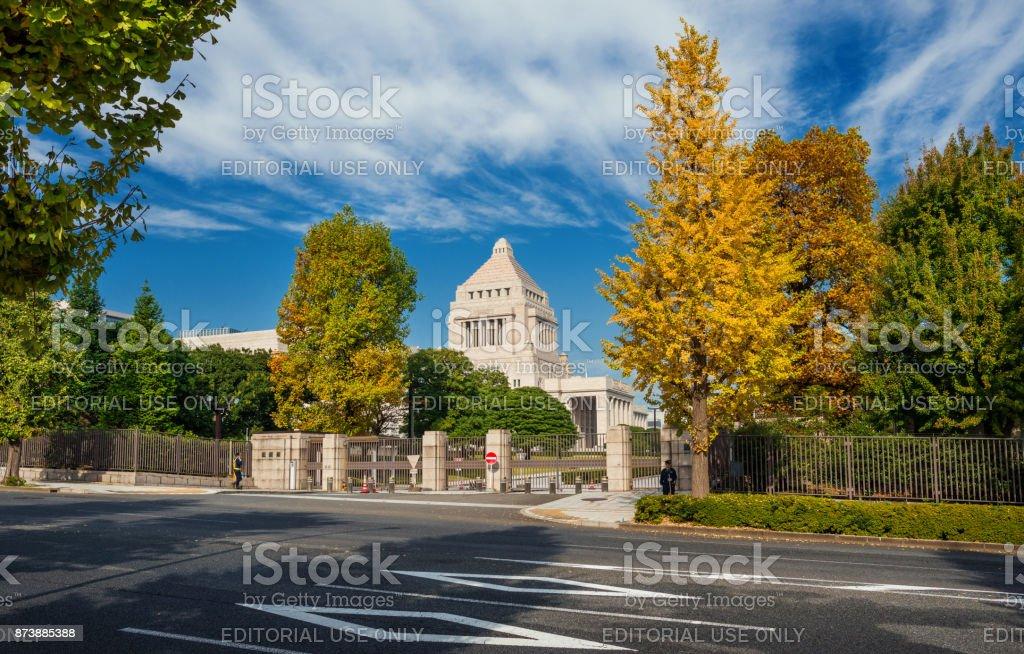 国会ビルディング日本の ストックフォト