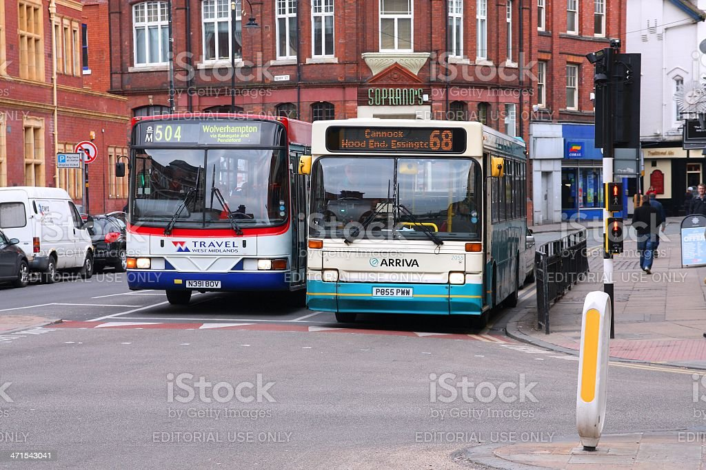 National Express and Arriva stock photo