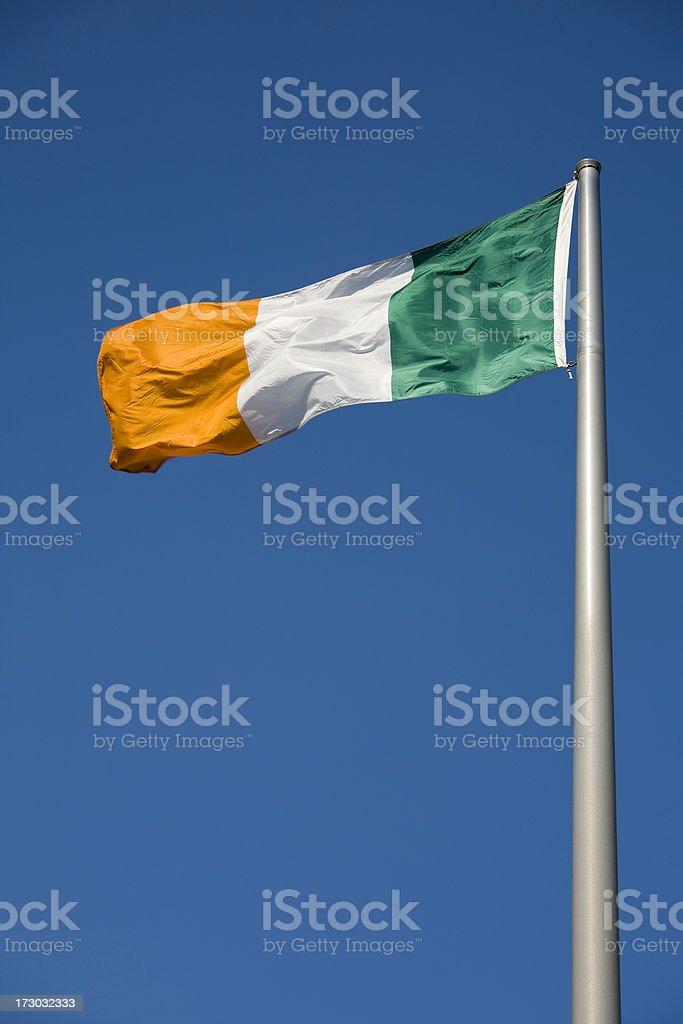 National Flag Ireland stock photo