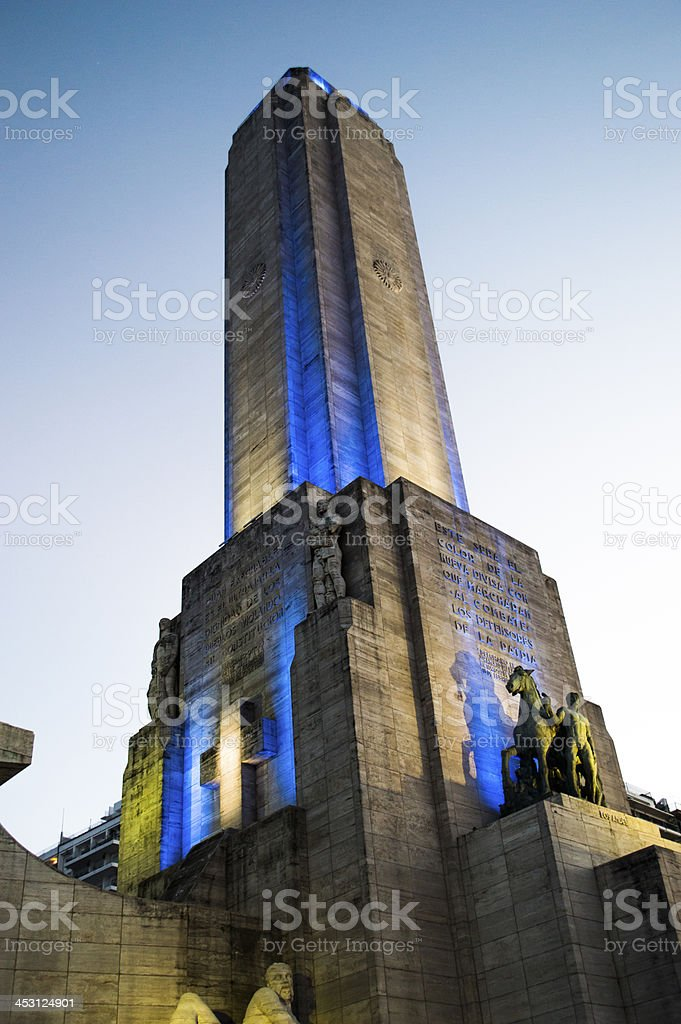 National flag memorial 2 Rosario stock photo
