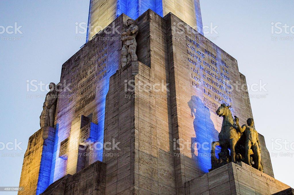 National flag memorial 3 Rosario stock photo