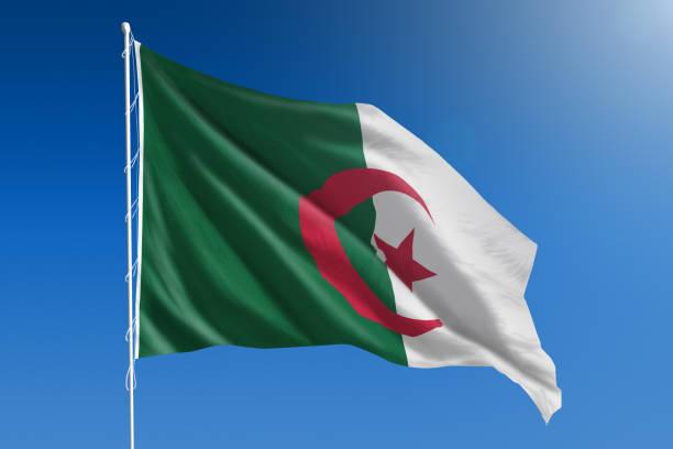 Drapeau Algérien Banque Dimages Et Photos Libres De Droit
