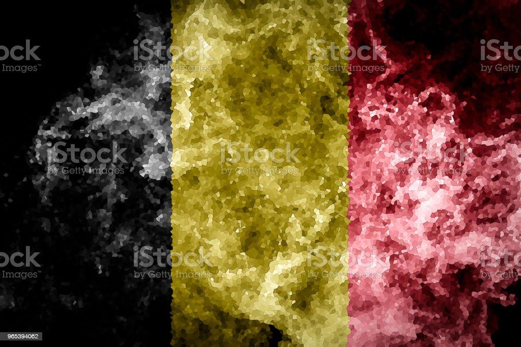 국립 플랙 of Belgium - 로열티 프리 0명 스톡 사진