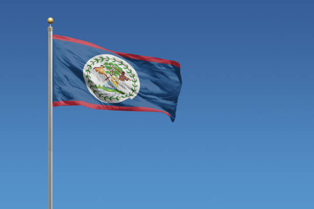 royalty free belize flag pictures images and stock photos istock