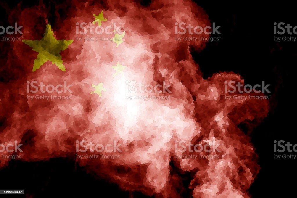 National flag of China zbiór zdjęć royalty-free