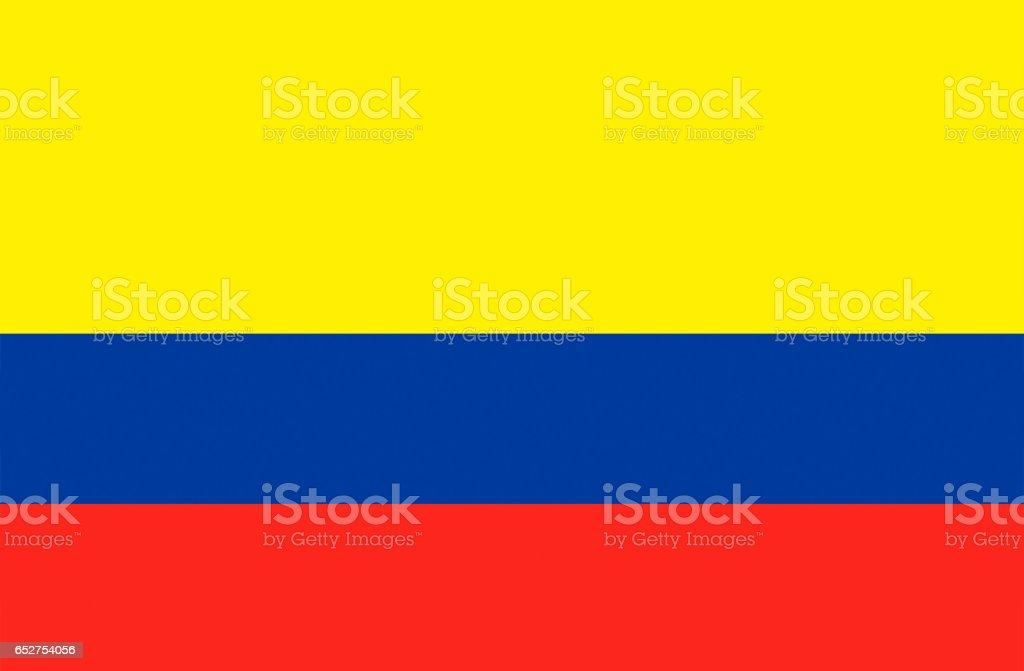 Bandera nacional de Colombia - foto de stock