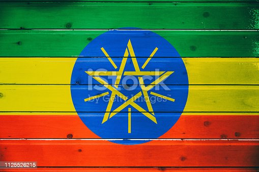 1058533662 istock photo National flag of Ethiopia 1125526215
