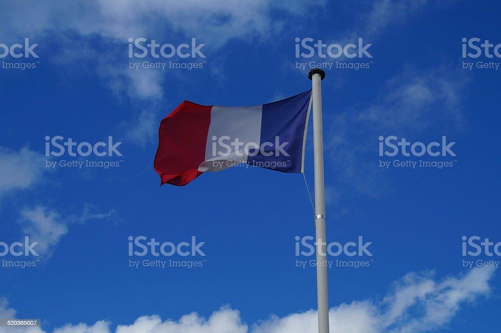 National Flag of France - Europe stock photo