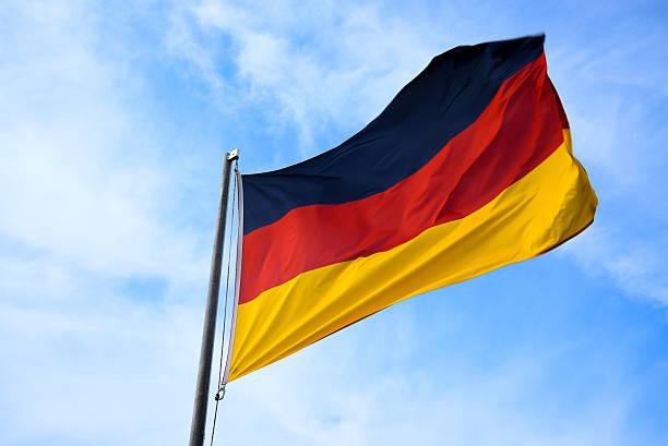 drapeau national de l'allemagne - drapeau allemand photos et images de collection