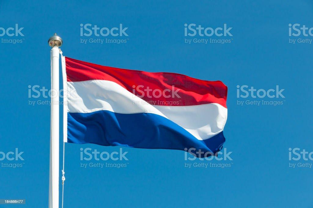 Bandera nacional de holanda - foto de stock