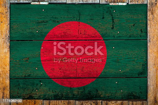 1058533662 istock photo National flag  on a wooden wall background 1174080100