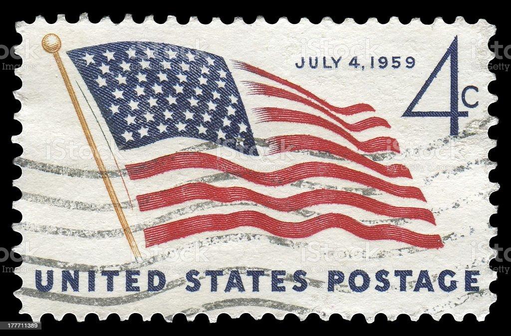 US national flag royalty-free stock photo