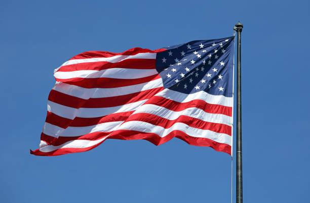 national flag usa stock photo