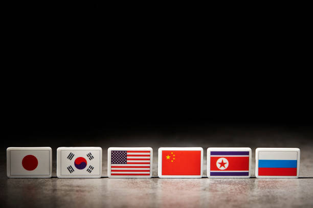 National flags Various national flags foreign affairs stock pictures, royalty-free photos & images
