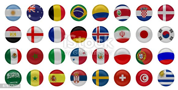 istock National football team flags 876773444