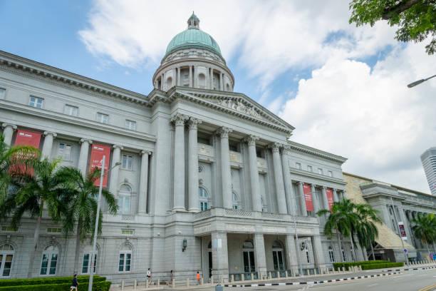 national gallery in singapore - supreme court zdjęcia i obrazy z banku zdjęć