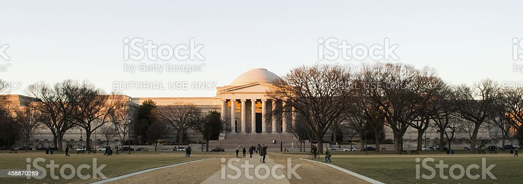National Gallery of Art (West Building) royalty-free stock photo