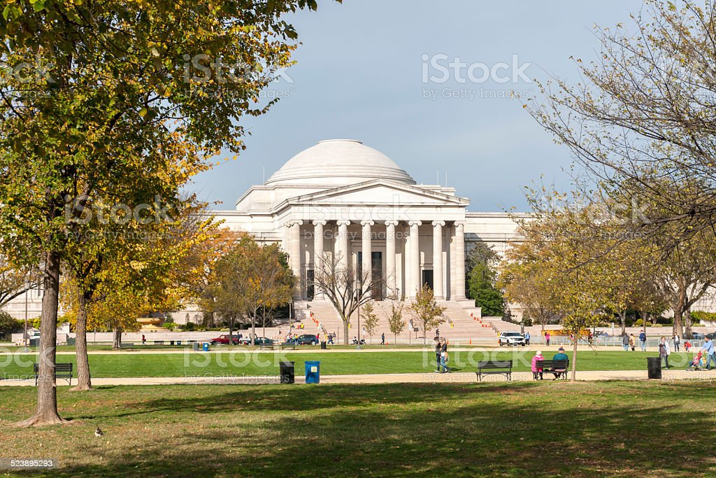 National Gallery of Art stock photo