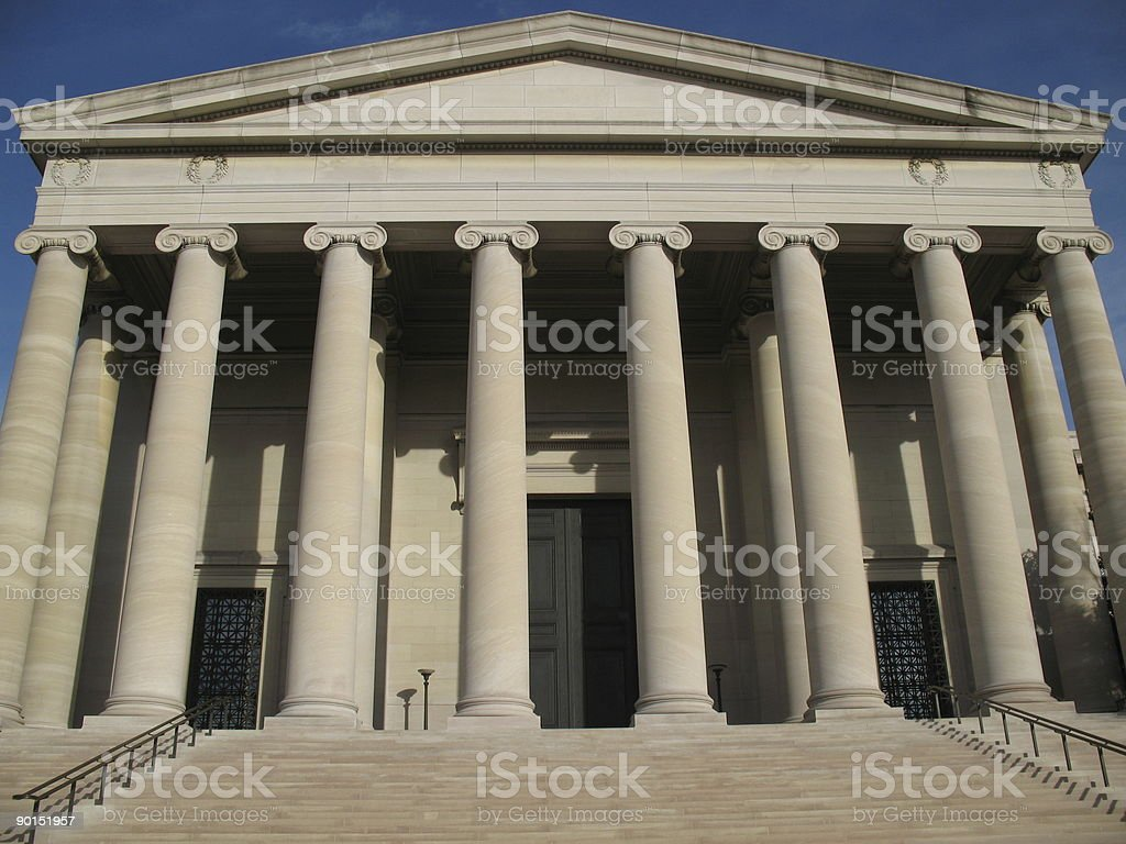 National Gallery of Art royalty-free stock photo