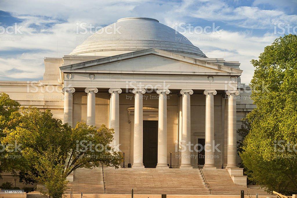 National Gallery of Art, Smithsonian stock photo