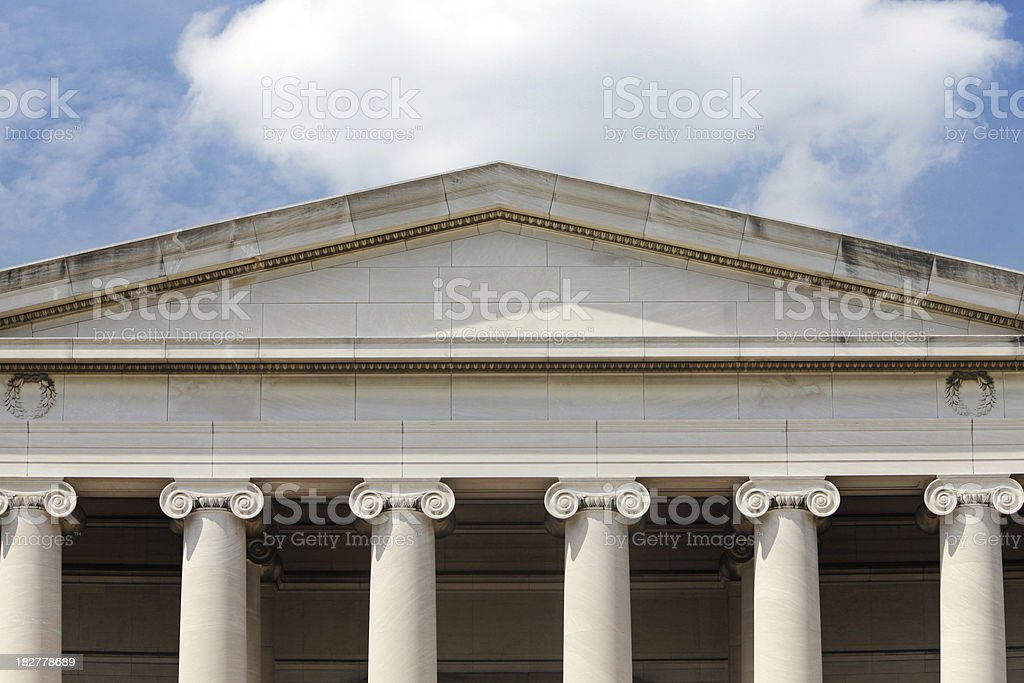 National Gallery of Art, Washington, DC stock photo