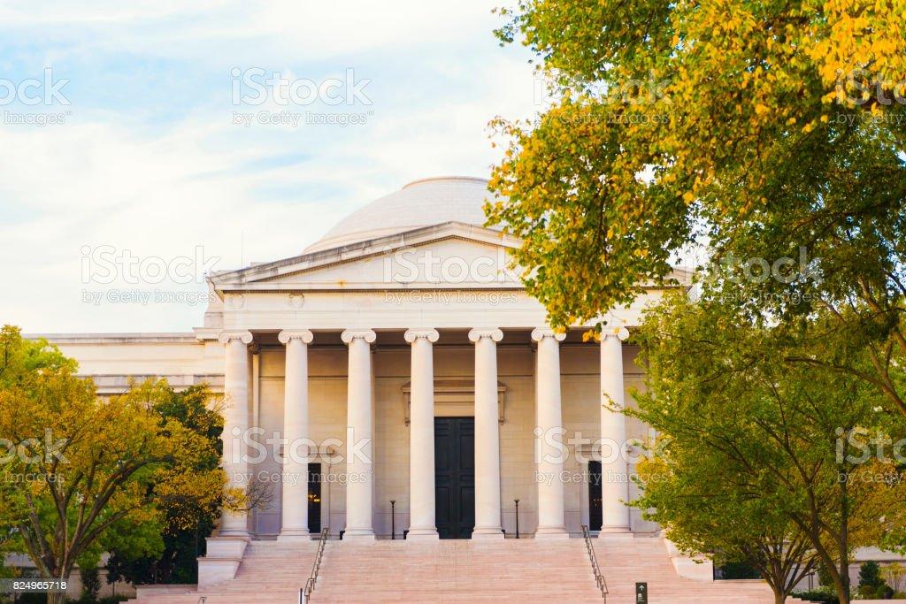 National Gallery of Art, Washington D.C. stock photo