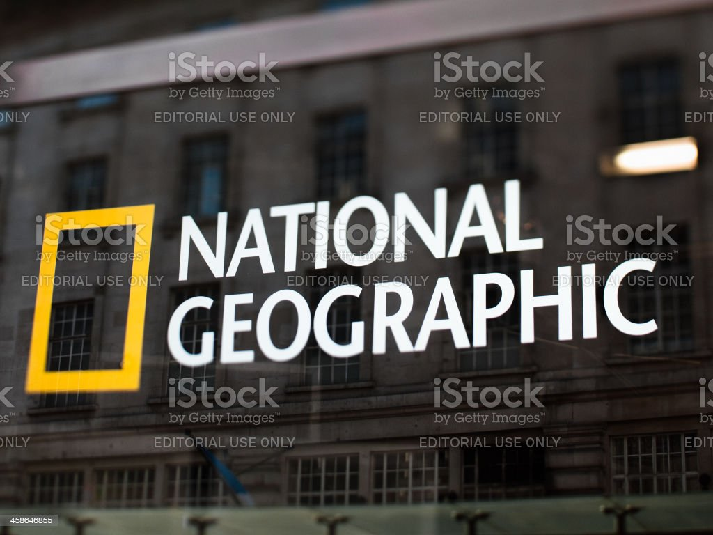 National Geographic Sign