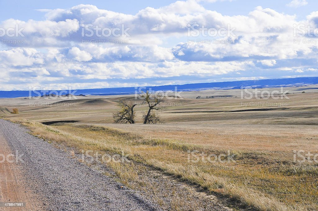 National grassland royalty-free stock photo