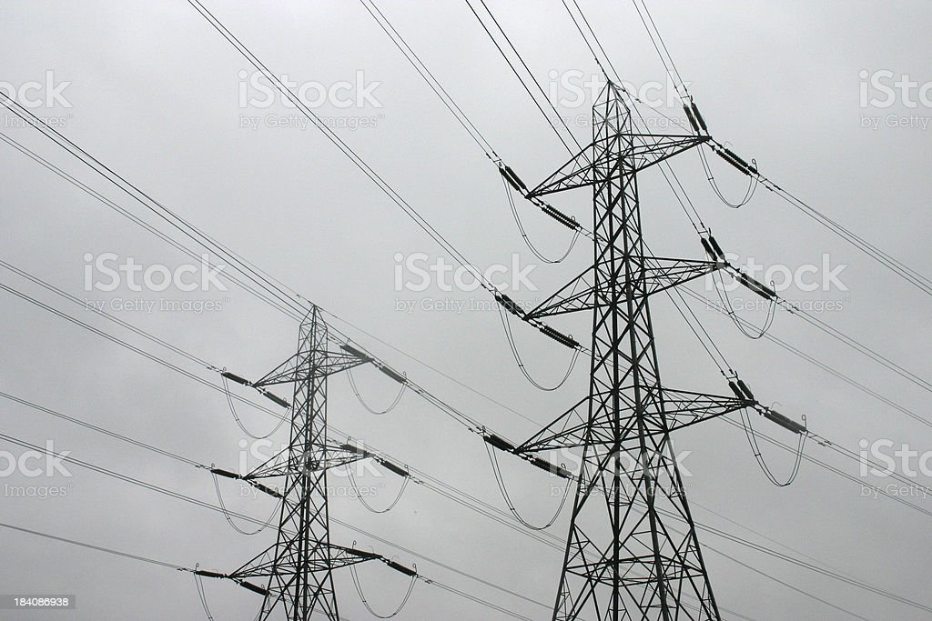 National Grid royalty-free stock photo