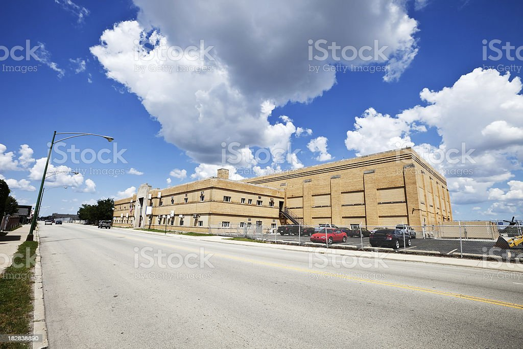 National Guard Building in Clearing, Chicago royalty-free stock photo