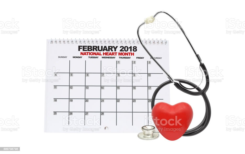 National Heart Month stock photo