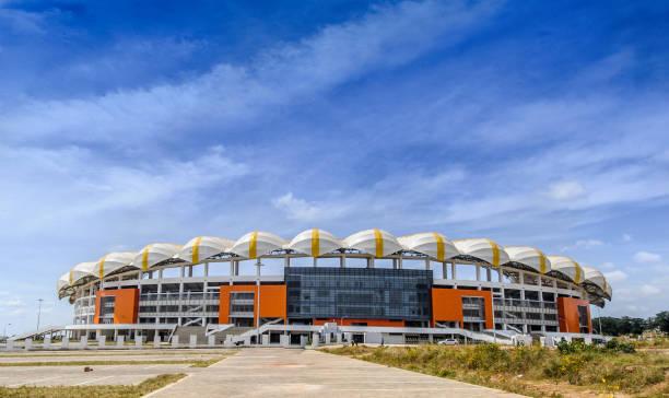 National Heroes Stadium stock photo