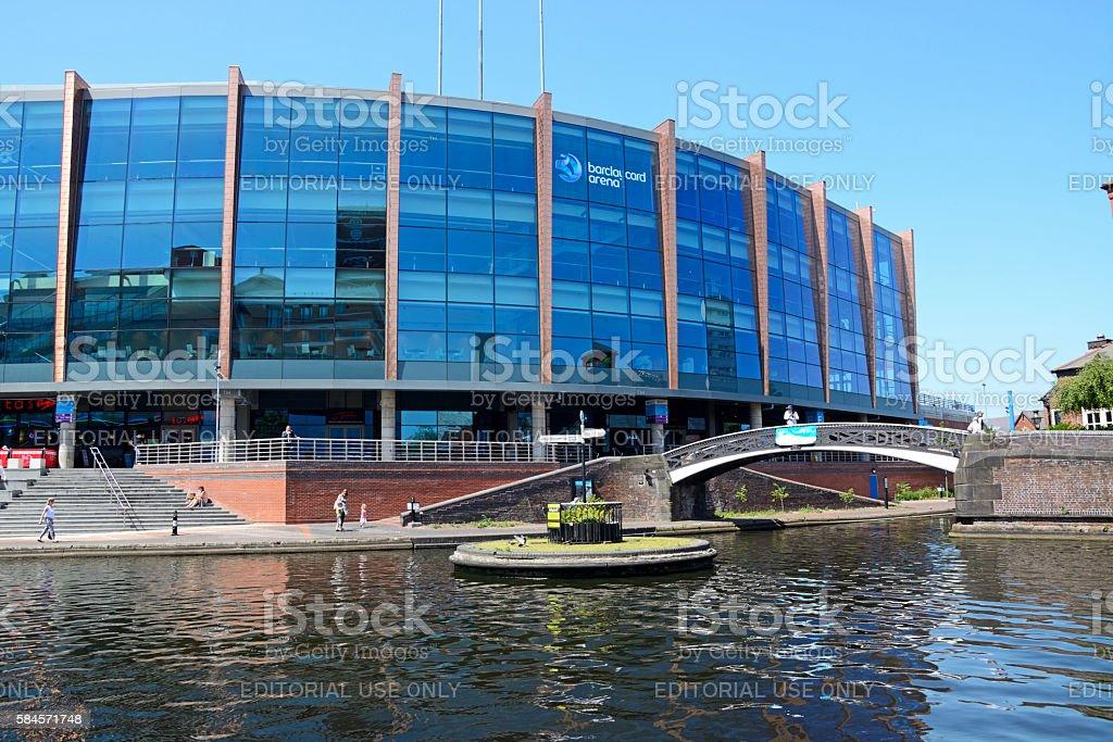 National Indoor Arena, Birmingham. stock photo